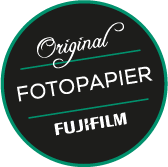 Badge Original FUJIFILM Fotopapier